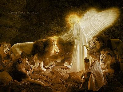 但以理在狮子坑中】6:1-28